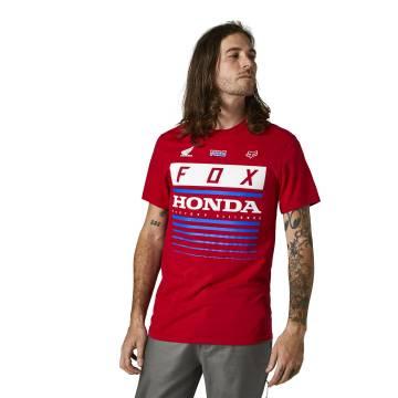 FOX Basic T-Shirt Honda HRC | rot | 28321-122 Basic SS Tee