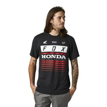 FOX Basic T-Shirt Honda HRC | schwarz | 28321-001 Basic SS Tee