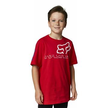 FOX Kinder T-Shirt Skew   rot   28464-122 Youth SS Tee