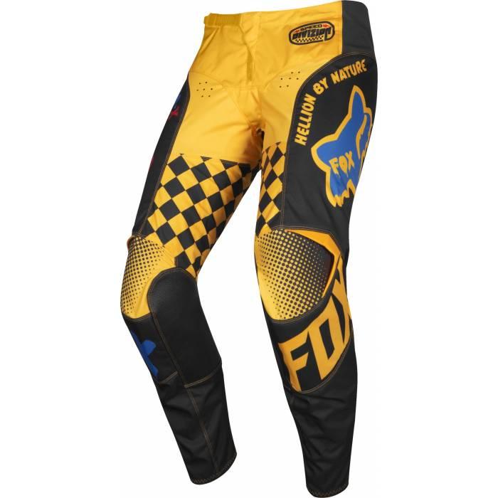 FOX 180 CZAR, MX Hose 2019, schwarz/gelb
