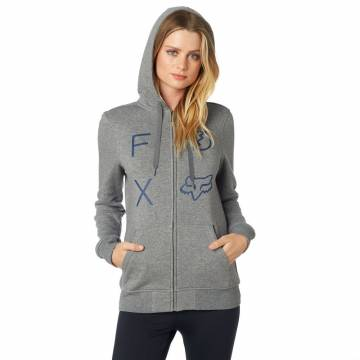 Fox Staged Damen Zipper Hoody, 21030-185