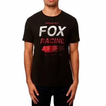 FOX Airline T-Shirt Herren Unlimited | schwarz | 23117-001 Frontansicht