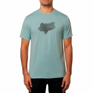 FOX Tech T-Shirt Herren Clash | blau |  23109-332 Frontansicht