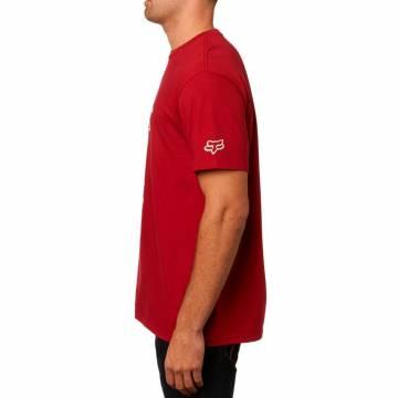 FOX T-Shirt Herren Moto Cross | rot | 23148-465 Seitenansicht