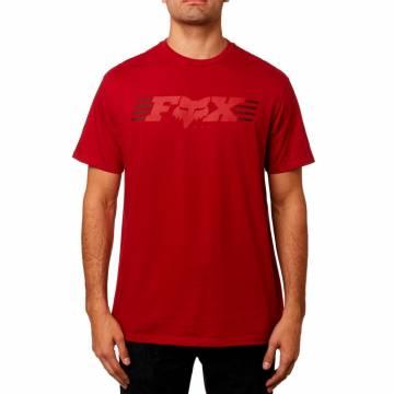 FOX T-Shirt Herren Muffler | rot | 23307-465 Frontansicht