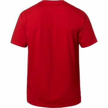 FOX T-Shirt Herren Muffler | rot | 23307-465 Rückansicht