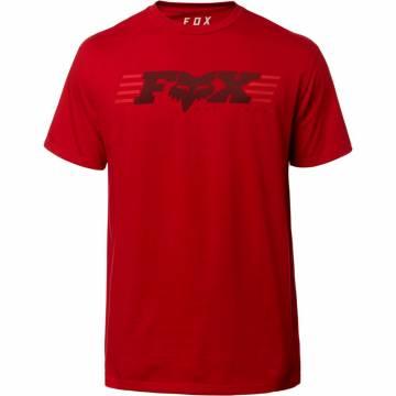 FOX T-Shirt Herren Muffler | rot | 23307-465