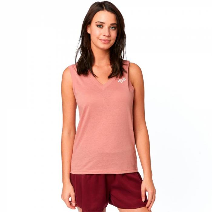 Fox Worldwide Tank, Damen Tank Top, rose