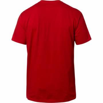 FOX T-Shirt Herren Honda | rot | 23144-465 | Rückansicht