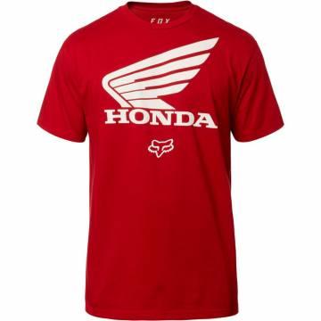 FOX T-Shirt Herren Honda | rot | 23144-465
